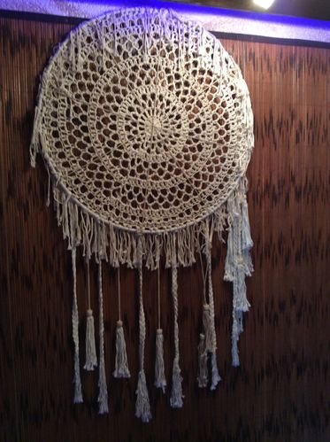Dreamcatcher EL GIGANTE crochet Collection 2017 Little Big Horn