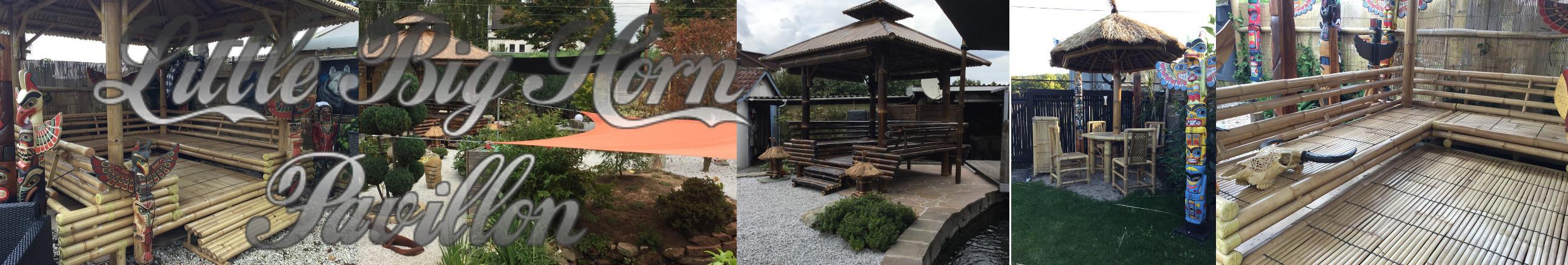 Bambus Pavillon Little Big Horn