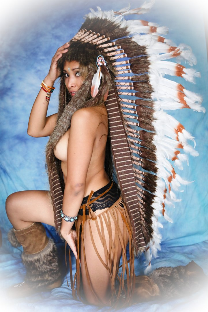 coiffe indienne Warbonnet store Little Big Horn
