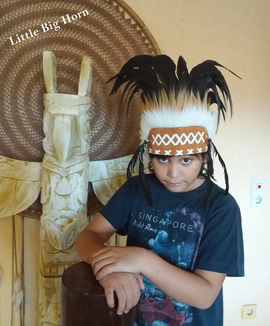 coiffe indienne War bonnet for children store Little Big Horn