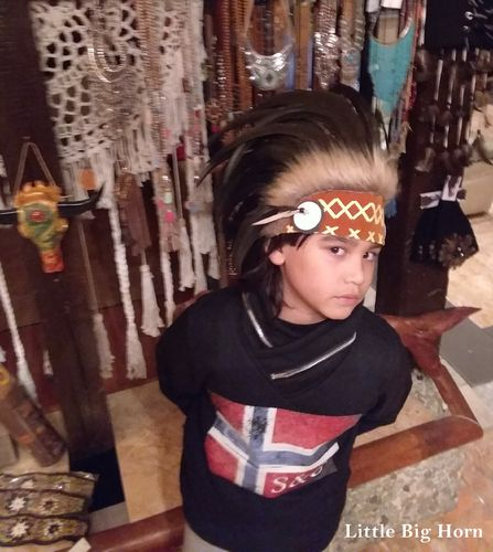 kids warbonnet Indian store american headdress Coiffe Indienne Little Big Horn Collection Summer 18